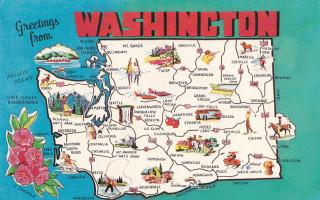 WA postcard