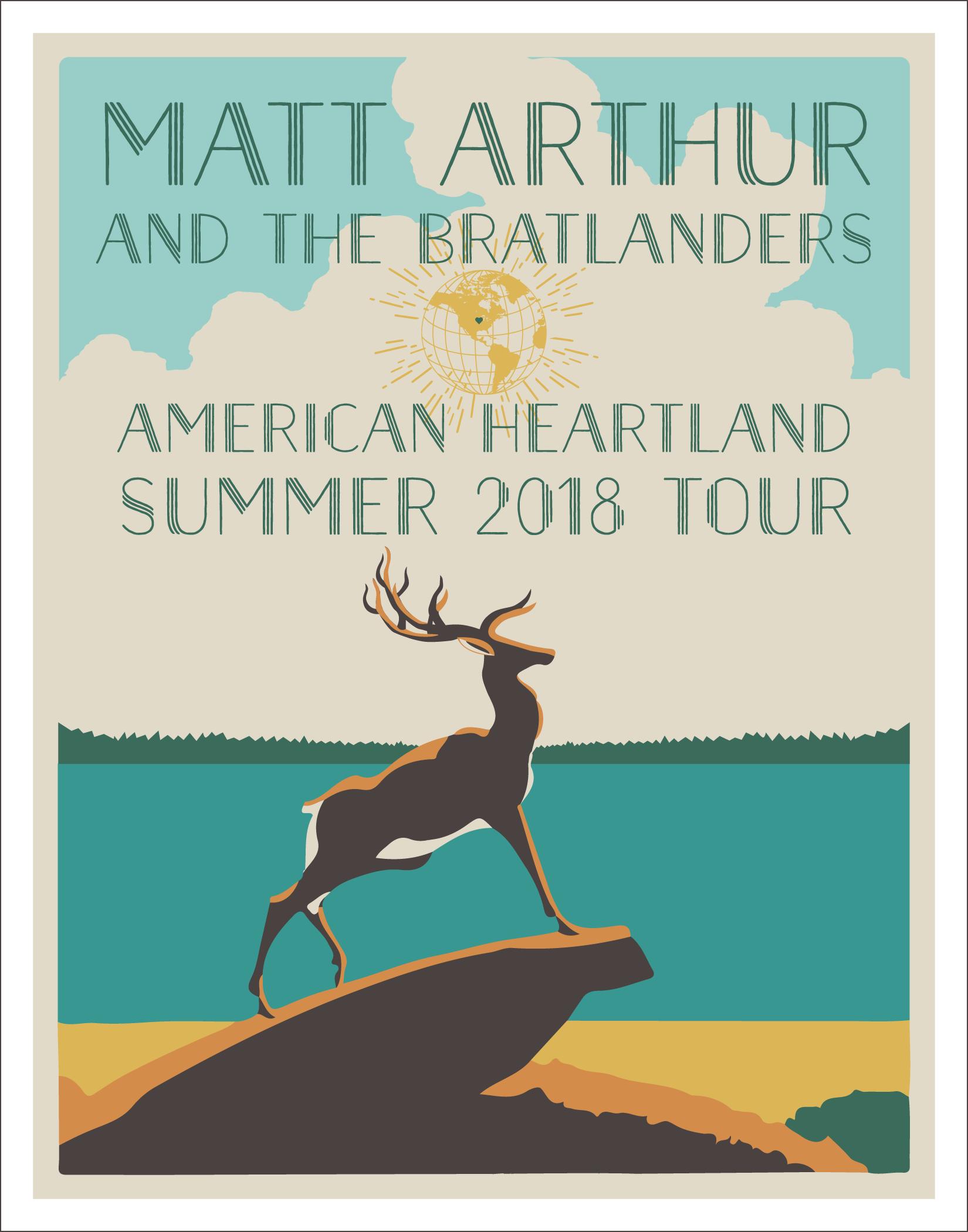 summer 2018 tour poster