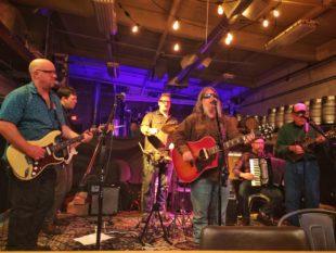 Matt Arthur performs with the Urban Hillbilly Quartet at Imminent Brewing