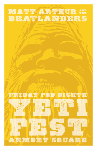 Yeti Fest poster